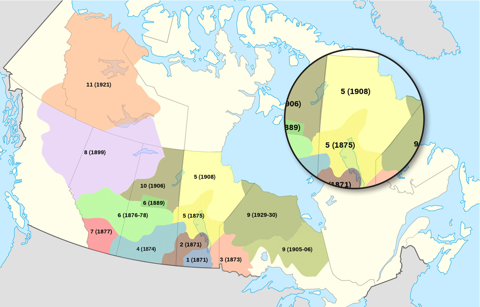 Numbered Treaties in Canada Treaty 5